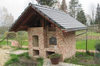 Freude genießen beim Backen, Grillen oder Räuchern (Backhaus, erbaut in Großschönau)