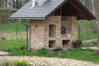 Backhaus (Ansicht Holzbackofen und Grill)